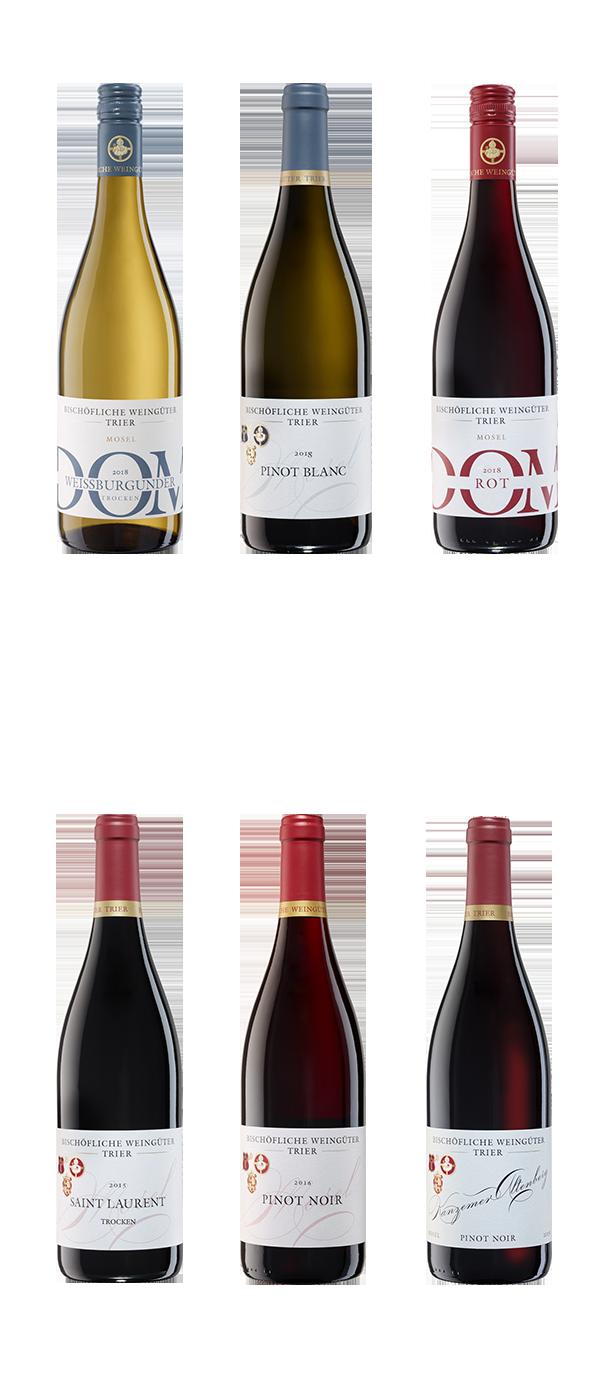Burgunder Kollektion Auswahlpaket 6 x 1 Fl.
