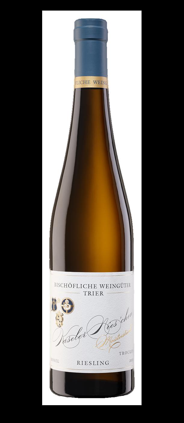 Melodie des Schiefers: 6 Flaschen 2019 Kaseler Nies'chen Riesling Spätlese trocken - Meisterstück